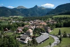 Le village de Saint-Maurice en Trièves