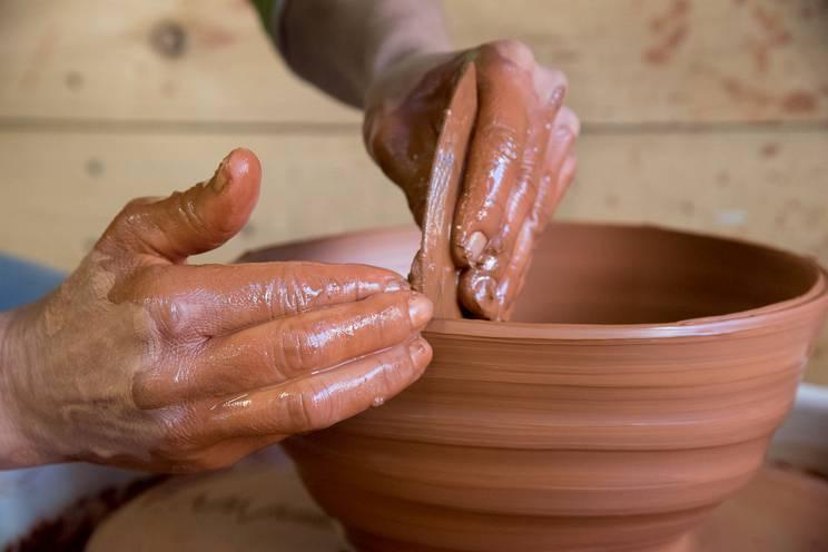 Aiguillette Lodge poterie Vercors