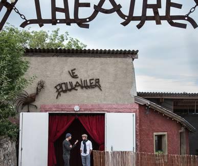 Photo Visite du théâtre Le Poulailler